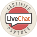 We are a certified LiveChat Partner