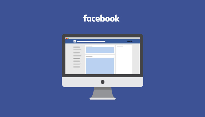 Facebook header template psd