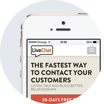 LiveChat mobile