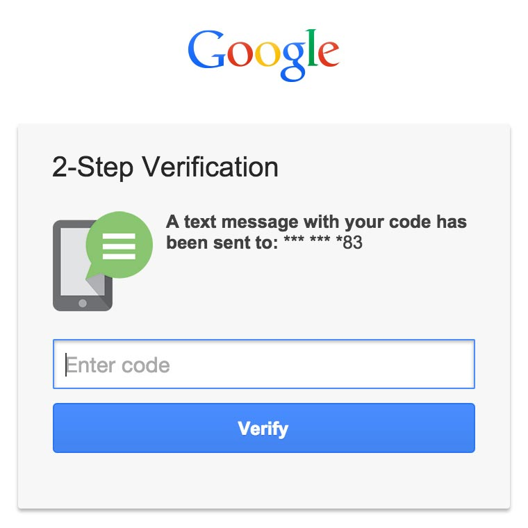 Use 2-step verification in Live Chat