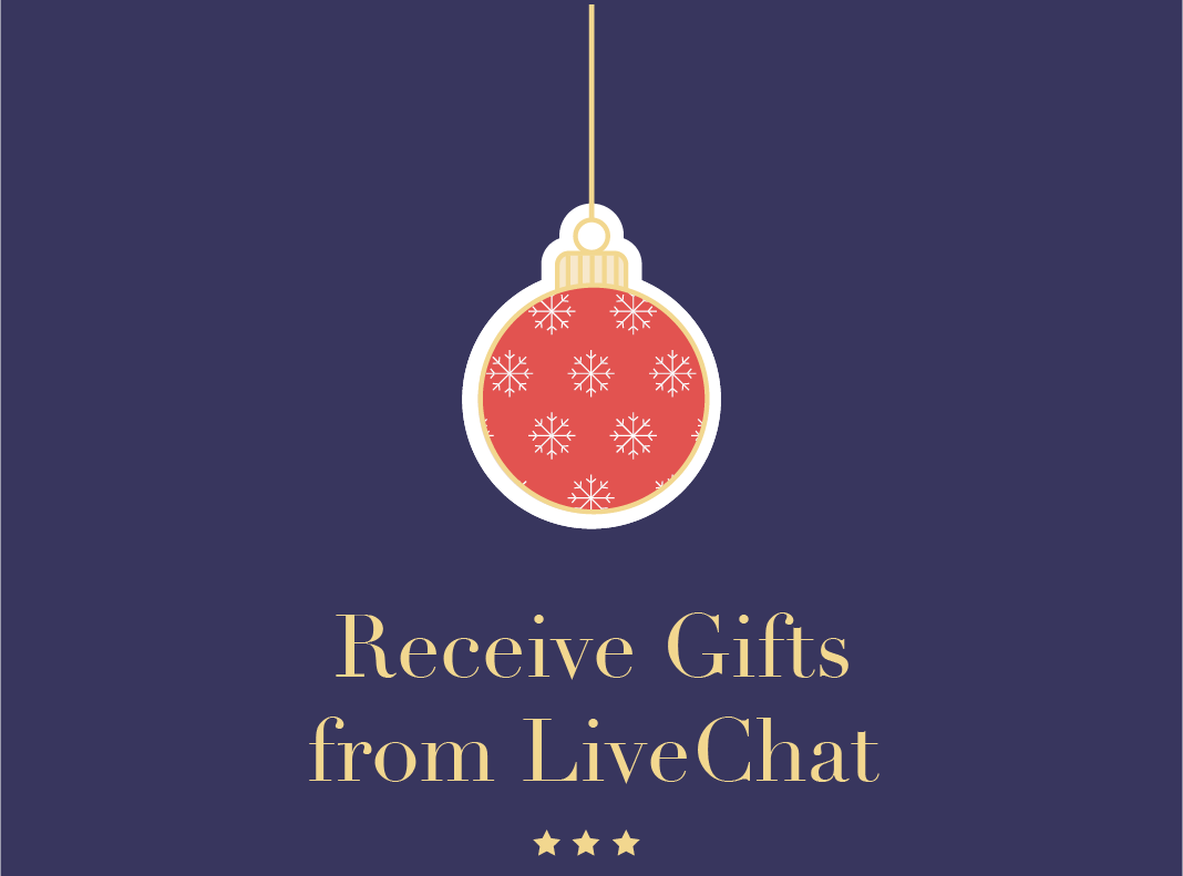 Receive Gifts from LiveChat