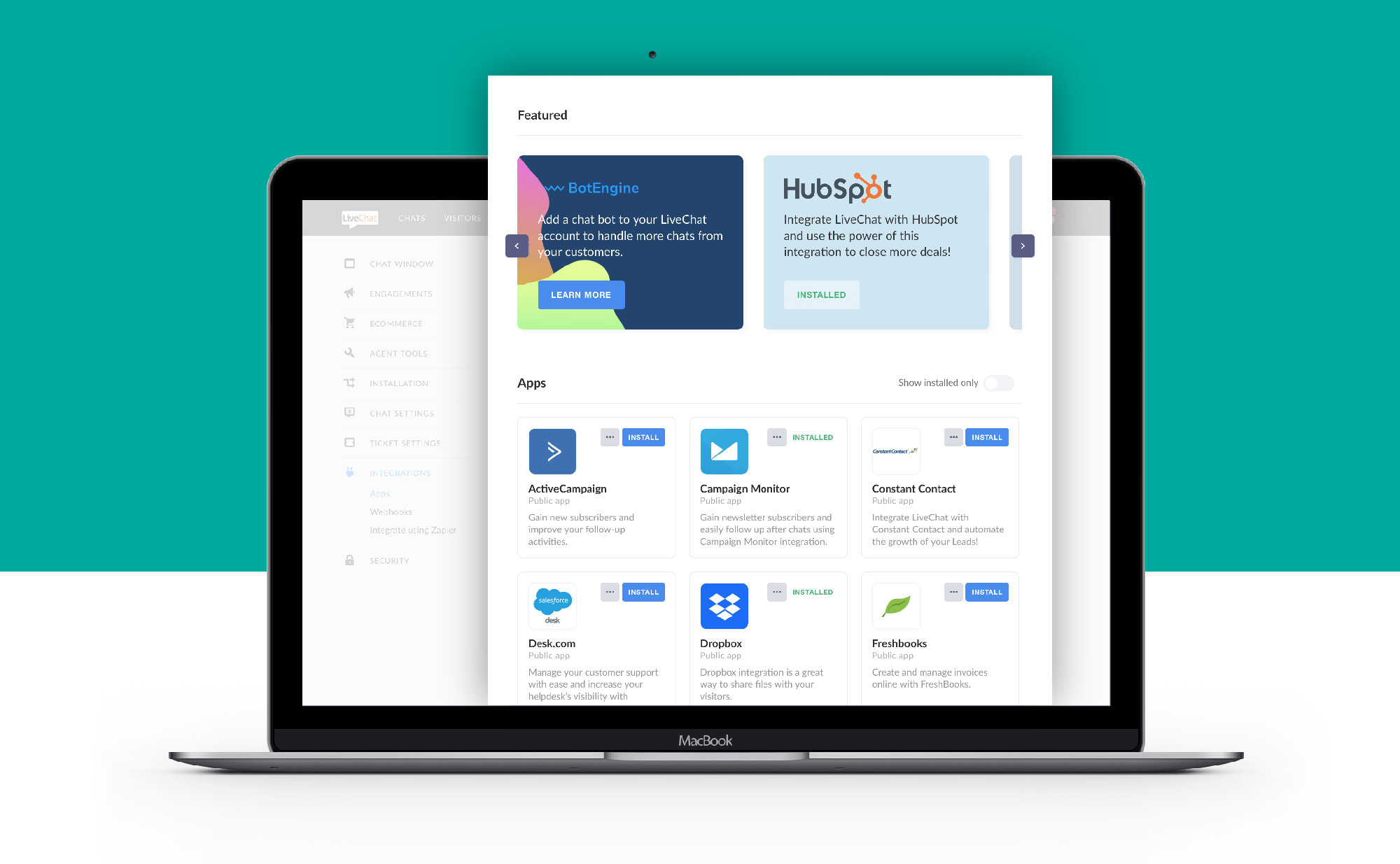 Explore New LiveChat Marketplace