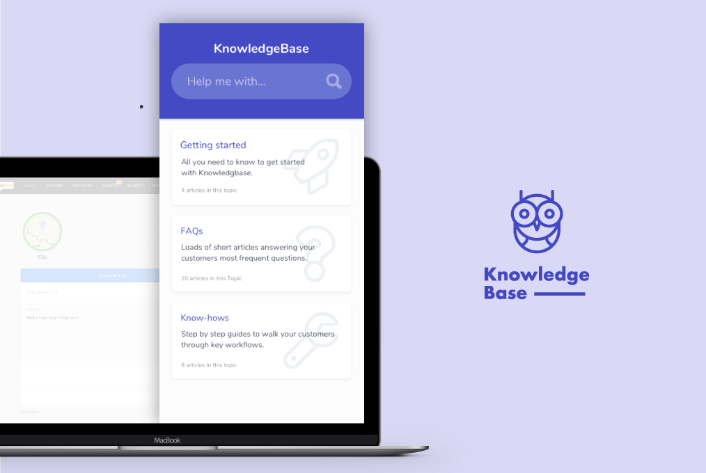 Place Your Knowledge Base Within the App