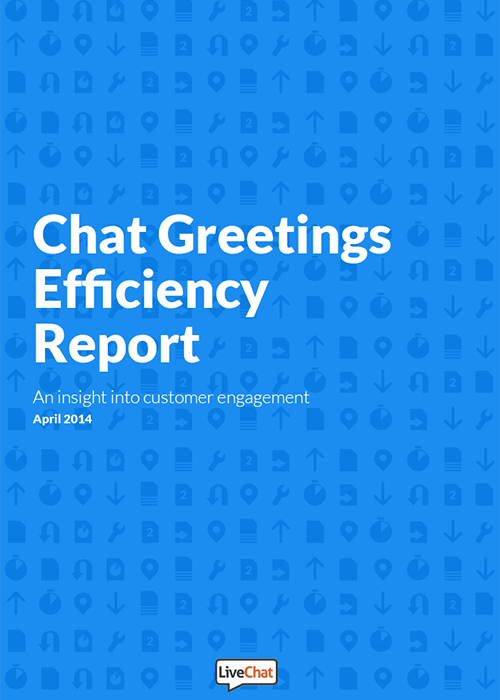 Chat greetings efficiency report livechat resources chat greetings efficiency report m4hsunfo