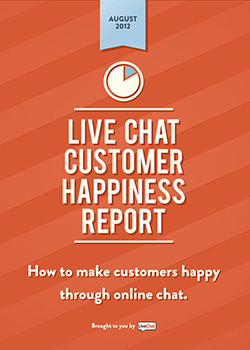 LiveChat Customer Happiness Report