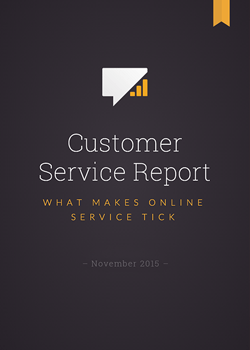 Customer Service Report 2015 by LiveChat
