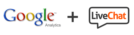 Google Analytics and LiveChat integration