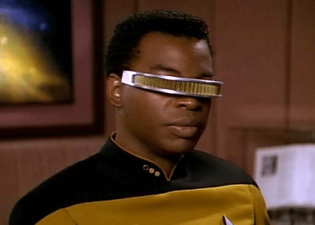 Visor a la Geordi Laforge not that different from Project Glass