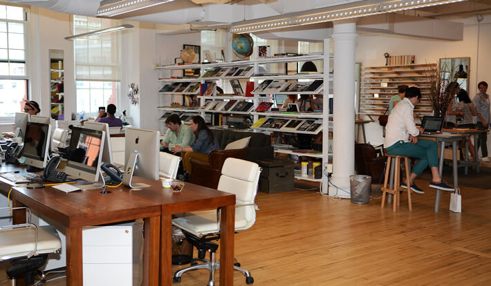 Warby Parker office and store