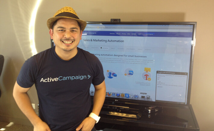 Jon, ActiveCampaign's Head Support
