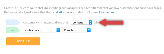 specifying multilingual pages