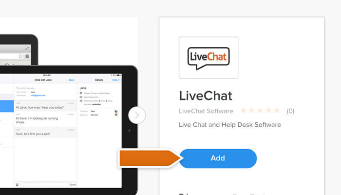 Adding LiveChat to Weebly