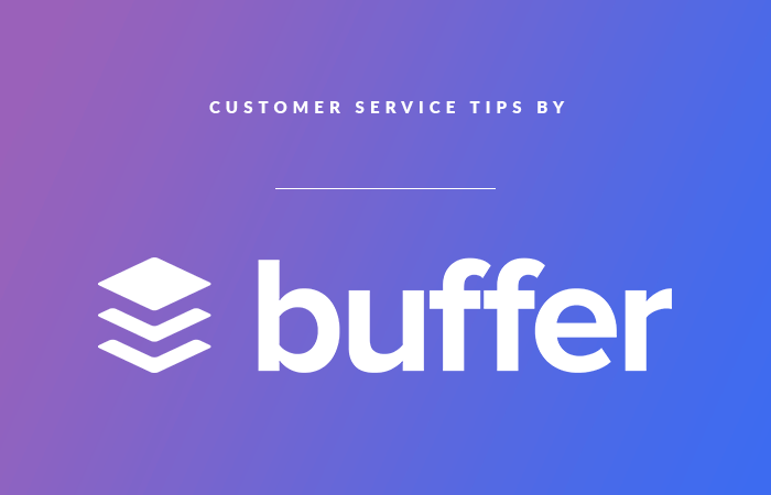 How Buffer Offers Great Customer Service
