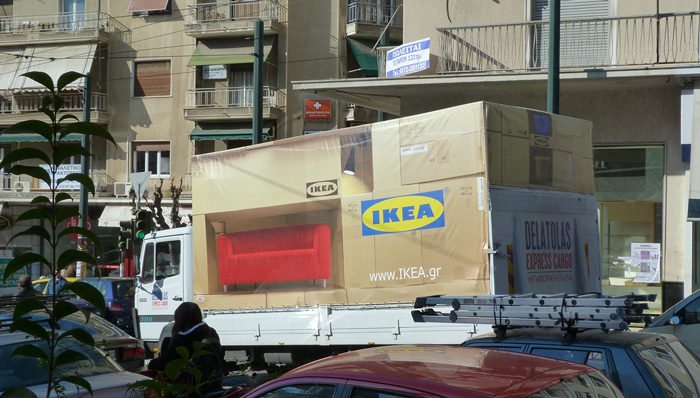 Multi-channel marketing from IKEA